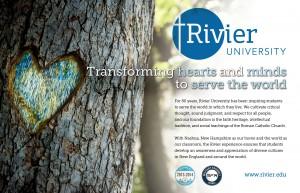 Diversity ad for Rivier University